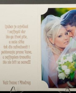Pozivnice za vjencanje - foto zahvalnica 436 - slika 3