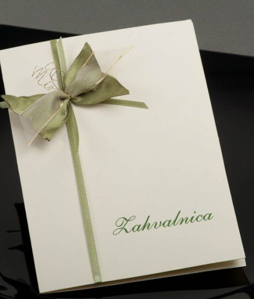 Pozivnice za vjencanje - foto zahvalnica 460 - slika 1
