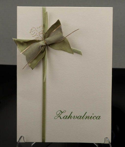 Pozivnice za vjencanje - foto zahvalnica 460 - slika 2