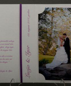 Pozivnice za vjencanje - foto zahvalnica 461 - slika 3
