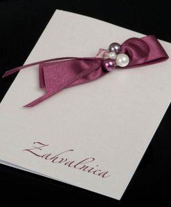 Pozivnice za vjencanje - foto zahvalnica 830 - slika 1