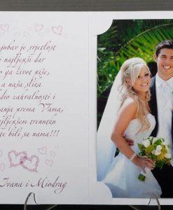 Pozivnice za vjencanje - foto zahvalnica 830 - slika 3
