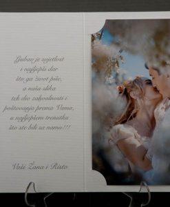 Pozivnice za vjencanje - foto zahvalnica 874 - slika 3