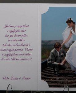 Pozivnice za vjencanje - foto zahvalnica 875 - slika 3