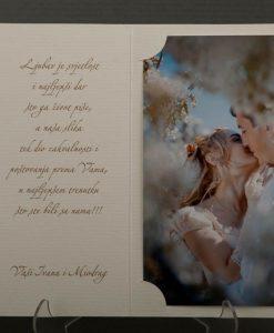 Pozivnice za vjencanje - foto zahvalnica 913 - slika 3