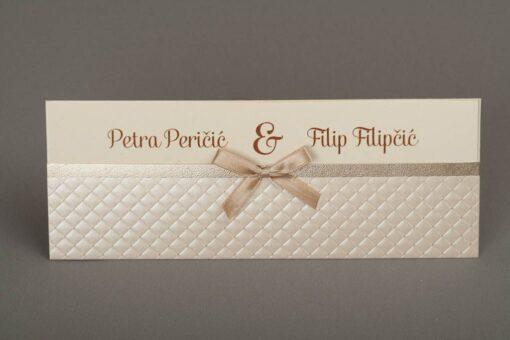 Pozivnica za vjenčanje 5438