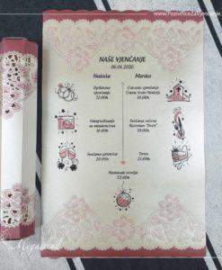 Pozivnica za vjencanje Megatrend 5542