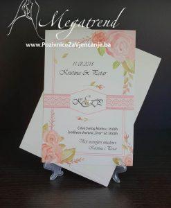 Pozivnica za vjenčanje 2747