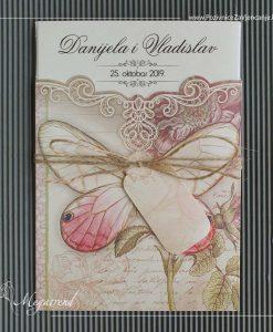 Megatrend pozivnica za vjencanje - 687