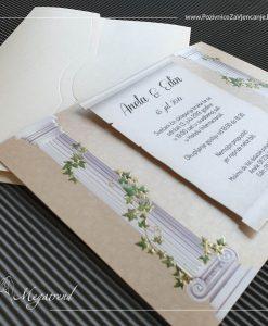 Pozivnica za vjencanje Megatrend Pozivnica za vjenčanje - Megatrend - 2749
