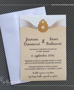 Pozivnica za vjenčanje 10377