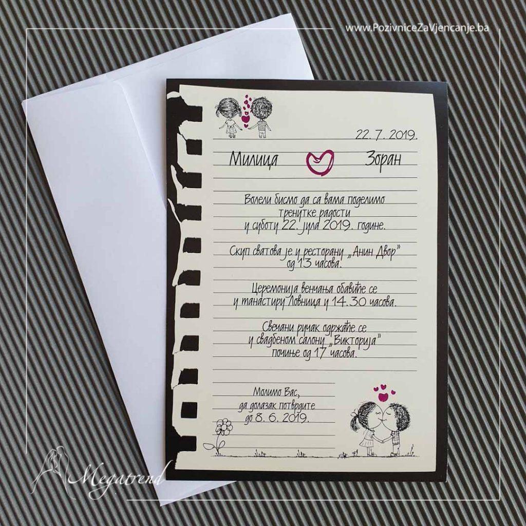 Tekstovi poruka za vjenčanje