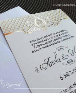 Pozivnica za vjenčanje 10406