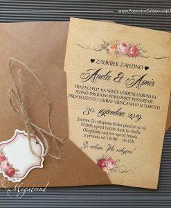 Pozivnica za vjenčanje 10542