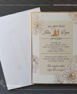 Pozivnica za vjenčanje 10545