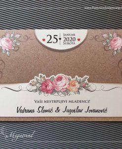 Pozivnica za vjenčanje 10553