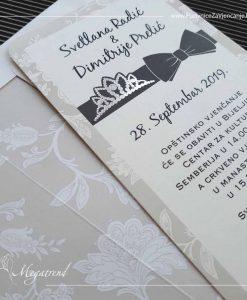 Pozivnica za vjenčanje 10568