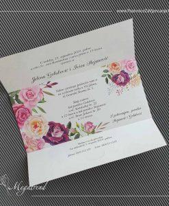 Pozivnica za vjenčanje 10573