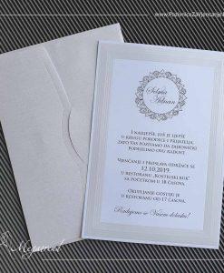 Pozivnica za vjenčanje 5396