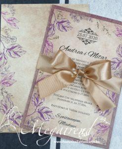 Pozivnica za vjencanje Megatrend - 10523a - 1