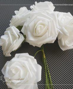 Repromaterijal - Megatrend - 856 Velike ruže BEŽ za bidermajer 1